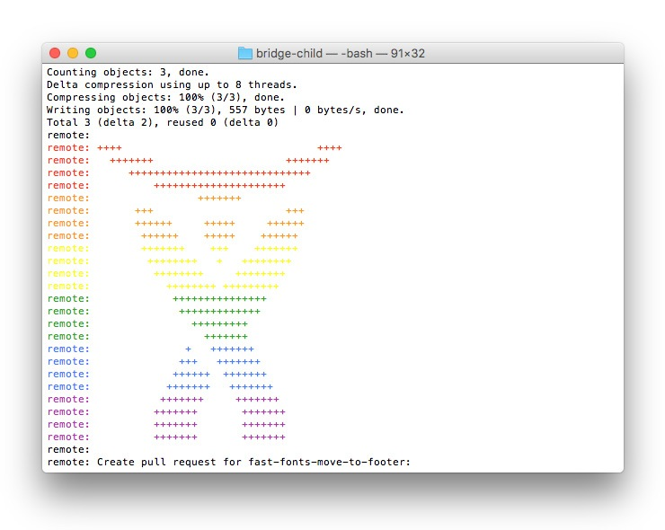 bitbucket-atlassian-rainbow-logo-in-console