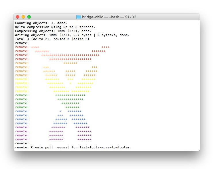bitbucket-atlassian-rainbow-logo-in-console